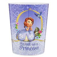 Disney Sofia the First Sweet as a Princess Wastebasket