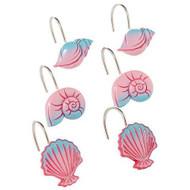 Disney Little Mermaid Shower Curtain Hooks 12-pk.