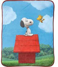 Peanuts Movie Snoopy Plush Throw Blanket