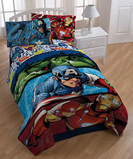 Marvel the Avengers Twin Size Reversible Comforter