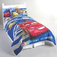 "Disney Cars ""Track Burn"" Twin Bed Comforter"