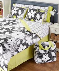Studio 25 Flora 8pcs Queen Size Bed in a Bag