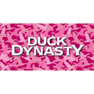 Duck Dynasty Large Pink Camo Body Pillow