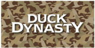 Duck Dynasty Large Camo Body Pillow