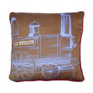 "Disney Kingdom Collection - Engine Express 14"" Square Decorative Pillow"