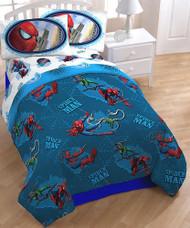 Marvel Spiderman 'Wonder Web' Twin Size Comforter