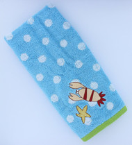 "Just For Kids Undersea Hand Towel - 100% Cotton - 16"" by 26"""
