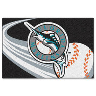 MLB Florida Marlins Tufted Rug (20-inch x 30-inch)