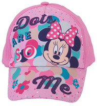 Disney Minnie Mouse Dots are so Me Baseball Cap, 3-6 Years, Pink