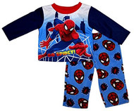 Marvel Ultimate Spiderman Baby Boys' Go Spidey Fleece Pants Pajama Set - Size 4T