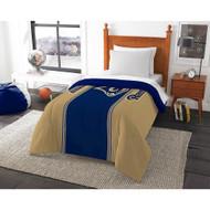NFl Saint Louis Rams Twin Size Comforter