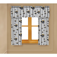 NFL Saint Louis Rams Drapes, 82 by 63-Inch