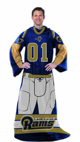 NFL St. Louis Rams Full Body Player Comfy Throw