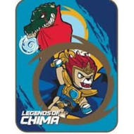 Lego Legends of Chima Micro Raschel Throw 46in x 60in