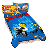 LEGO City Catch Me Microraschel Blanket, 62 by 90-Inch