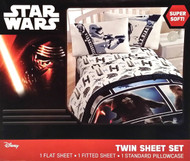 """Star Wars Episode VII The Force Awakens """"First Order vs The Resistance"""" 3 Piece Twin Sheet Set"""