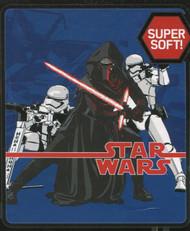 """Star Wars Episode VII Plush Throw Blanket - 50"""" by 60"""""""