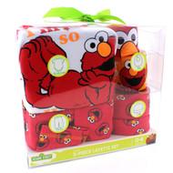 Disney Sesame Street DC Comics Baby 5 piece Layette Gift Set (0-6 mos.)
