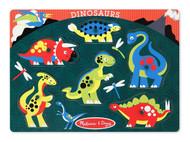 Melissa & Doug Dinosaurs Peg Puzzle