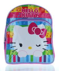 "Hello Kitty 12"" Backpack 'Musical Rainbow'"