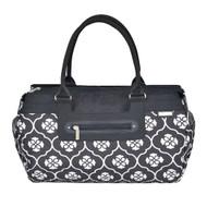 JJ Cole Parker Diaper Bag, Black Floret