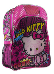 Fast Forward Little Girls' Hello Kitty With Hood Full Size Backpack