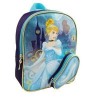Disney Girls' Cinderella Backpack, Blue