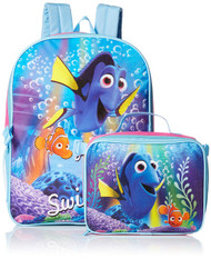 Disney Girls' Finding Dory Backpack with Lunch