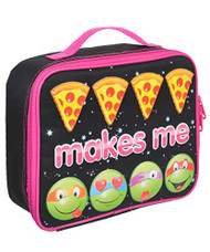 "Nickelodeon Ninja Turtles Girls ""Emoji Ninja"" Lunch Bag"