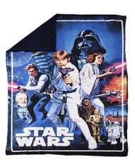 Star Wars Cozy Sherpa Throw [A New Hope]