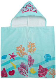 "New Disney Little Mermaid Ariel ""Shimmer and Gleam"" Hooded Towel"