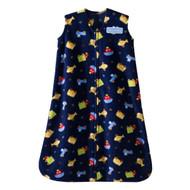 Halo SleepSack Micro-Fleece Wearable Blanket, Travel Time, Small