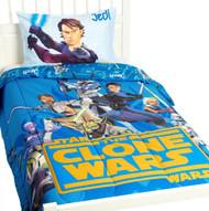 Star Wars Clone Wars Jedi Twin Comforter