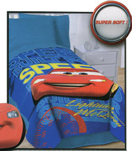 Disney Pixar Cars Plush Oversized Blanket - Built for Speed