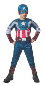 Marvel Captain America: The Winter Soldier Fiber-Filled Retro Suit Costume, Child Large