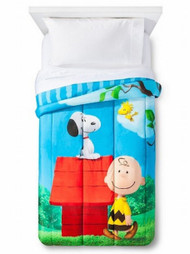 Peanuts Movie Sunny Day Twin Reversible Comforter