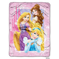 Disney Princess Classic Dreams Throw Blanket