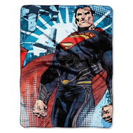 Superman From SmallVille Throw Blanket