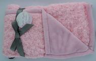 Night Night Baby Blanket (Light Pink/ Light Pink)