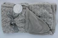 Night Night Baby Blanket (Grey)