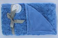 Night Night Baby Blanket (Sky Blue)