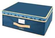 Samsonite S1753 Soft Storage Bags, Medium, Navy/Tan