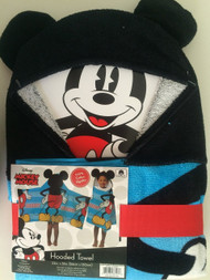 Disney Mickey Mouse Classic Hooded Bath Towel