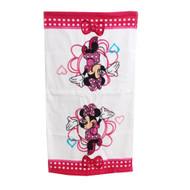 Disney Minnie Mouse White Hand Towel