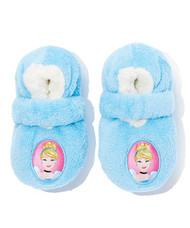 Disney Cinderella Fuzzy Slipper Socks (2T-3T)