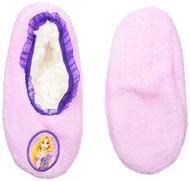 Disney Princess Rapunzel Fuzzy Slipper Socks (Medium/Large 13-4)
