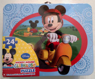 Mickey Mouse Clubhouse Puzzle in Collectible Tin Box