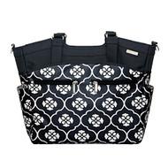 JJ Cole Camber Diaper Bag (Black&White)