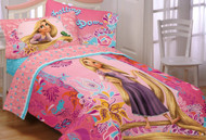 Disney Tangled Let My Hair Down Twin Sheet Set