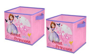 Disney Sofia the First 2PK Storage Cubes